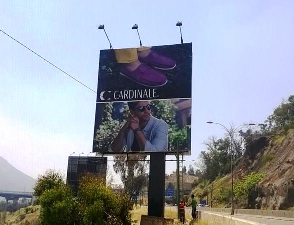 Tarifas publicitarias vía pública en Chile