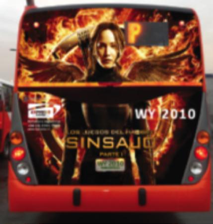 5 tips para un buen diseño de publicidad en buses Transantiago
