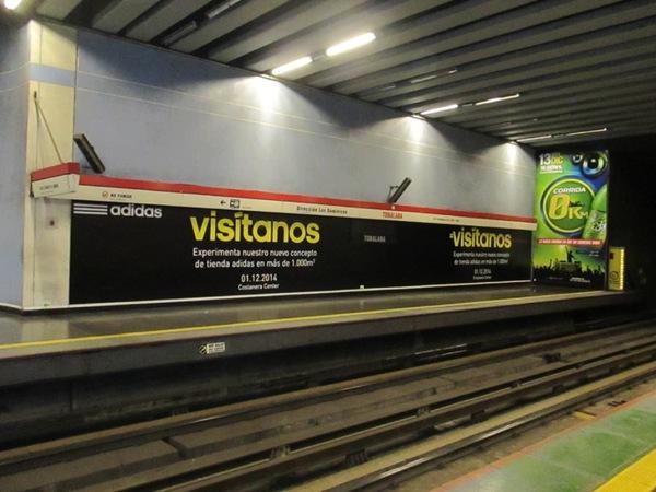 Publicidad en Metro de Santiago: ¿A cuántas personas impacto?