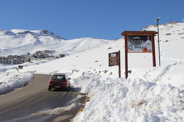 Centros de Ski 2021: Publicidad en la nieve