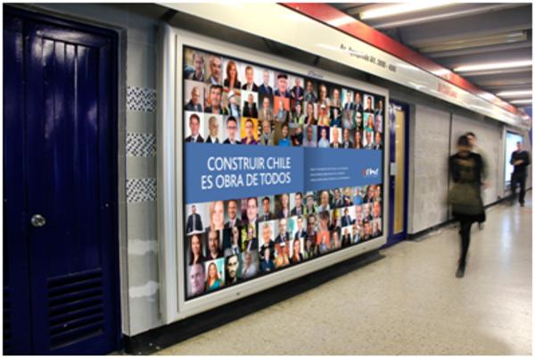 Publicidad en Metro de Santiago: ¿Cuántas personas impacto?
