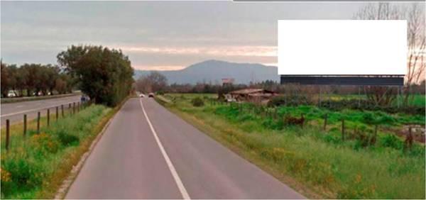 Ruta 78, Talagante desde Santiago a San Antonio. Km. 39,980