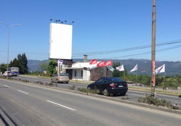 Foto de Pedro de Valdivia al llegar a Av. Alemana-Concepción (N-S)