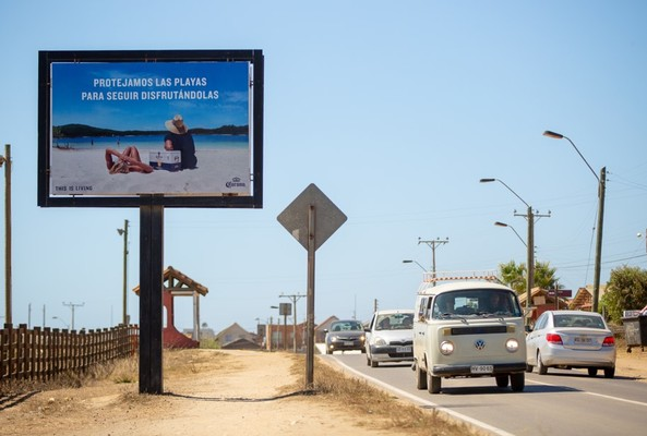 Foto de Camino a Punta de Lobos desde Pichilemu a 3 km del cruce