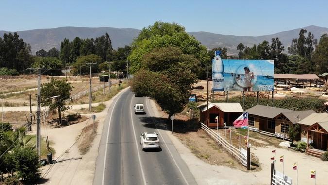Foto de Ruta F-30 km 48.800  hacia Maitencillo, Cachagua