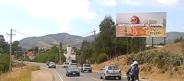 Foto de Ruta F30 km 46.600 Hacia Maitencillo