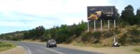 Ruta F30 a 1,5 km antes de entrada sur a Maitencillo km 43.300