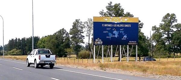 Foto de Salida Nuevo Aeropuerto Temuco
