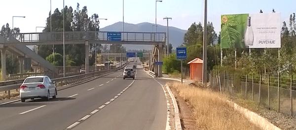Foto de Ruta 5 Norte - Cruce Catapilco N°3