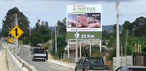 Foto de Ruta E-46 Catapilco / Dirección Maitencillo