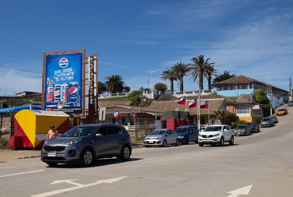 Foto de Bajada Playa Grande Pichilemu