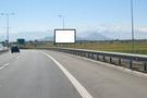 Costanera Norte desde Ruta 68 hacia Aeropuerto Pudahuel