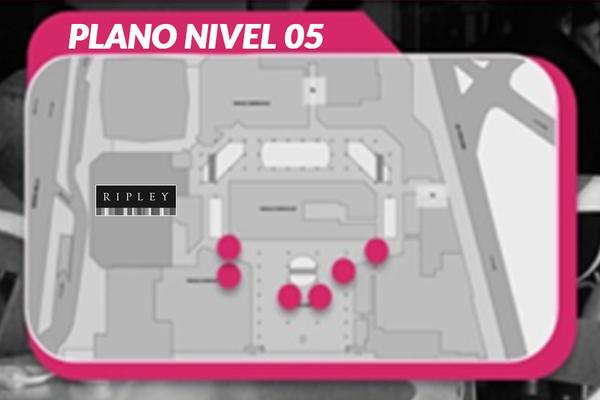Foto de Circuito Pantallas Digitales Pilares (6) - Nivel 05 - Costanera Center (6)