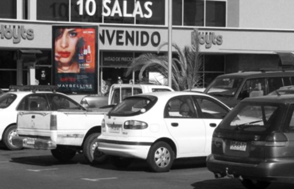 Foto de  Paletas - Exterior Estacionamientos Cine Hoyts - Arauco Maipú (1)