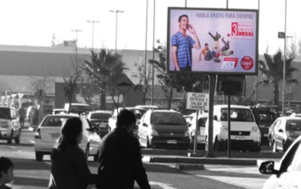 Foto de Minipoles - Exterior Estacionamiento Cine Hoyts - Arauco Maipú (1)
