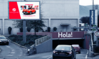 LED - Exterior Acceso Subterráneo - Mall Plaza Norte (1)