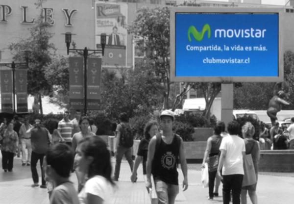 Foto de LED - Exterior Acceso Metro Falabella - Mall Plaza Vespucio (1)