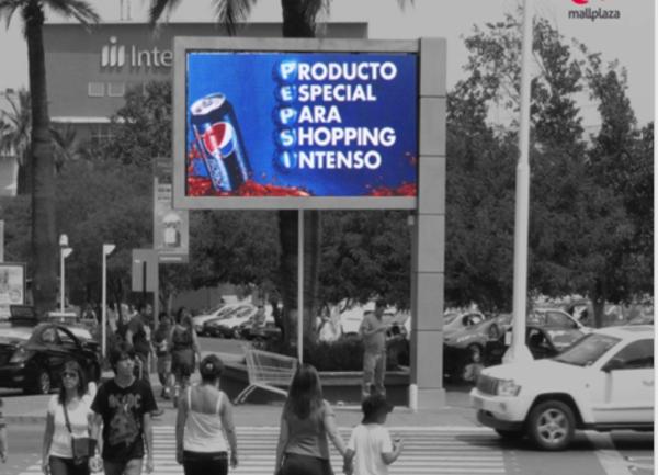 Foto de  LED - Exterior Acceso Peatonal - Mall Plaza Tobalaba (1)