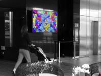 LED - en Pilar - Interior Nivel 01 Escaleras principales - Casa Costanera (1)