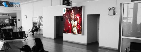 Foto de  Caja de Luz, Zona de Embarque - Aeropuerto Iquique