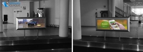 Foto de Caja de Luz, retiro de Equipaje, Cinta 3 - Aeropuerto Iquique