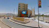 Av. Balmaceda, en el Casino y Hotel, hacia el Mall