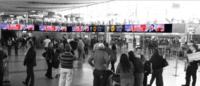 Cenefa - Embarque Inter - Aeropuerto Santiago