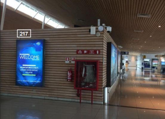 Foto de Sala de Embarque – Acceso a Sala de Llegadas