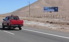 Ruta A 16, Entrada Oriente Iquique
