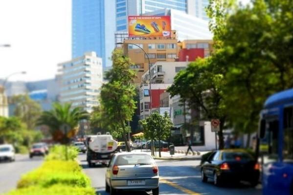 Foto de Av. los Leones / Providencia dirección a Costanera Center