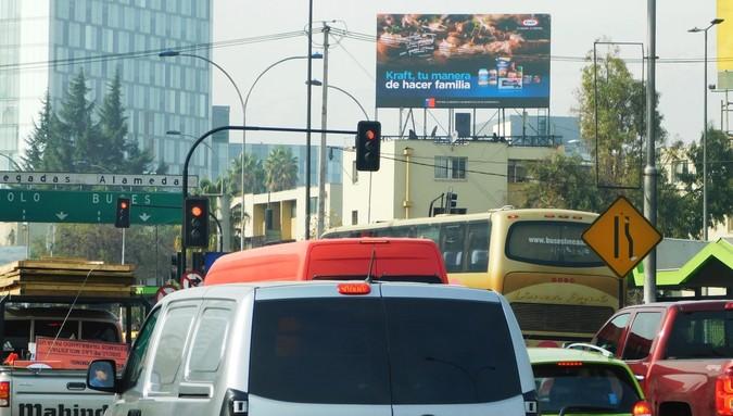 Foto de Alameda / Las Rejas dirección Oriente