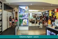 Columna digital 2 caras -  Alto Las Condes