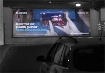 Cajas de luz - Mall Costanera Center Estacionamiento (1)