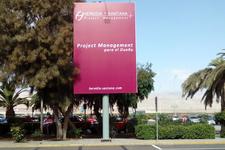Letrero Aeropuerto Exterior - Antofagasta