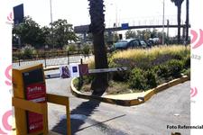 Barreras Estacionamiento Mall Plaza Alameda