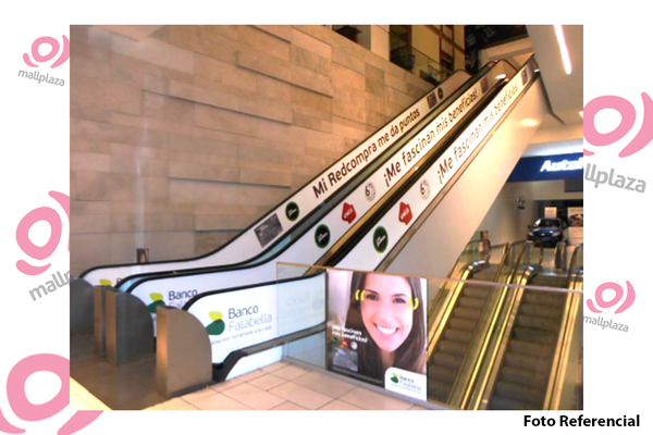 Foto de Escaleras mecánicas Mall Plaza Norte