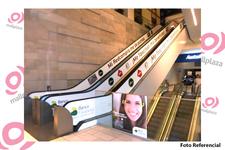 Escaleras mecánicas Mall Plaza Alameda