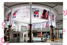 Cenefas Superiores Mall Plaza Central / Vespucio