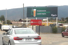 Ruta F30 km 48,1 hacia Maitencillo, Costado Unimarc.