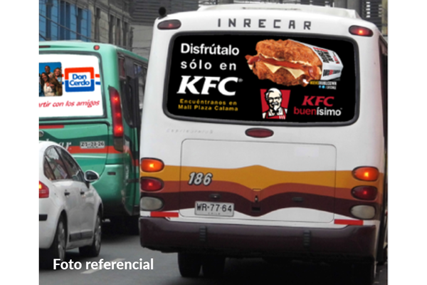Foto de Luneta Bus Quillota