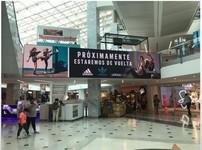 Mall Marina - Pantalla Plaza Central 2 Nivel Rosa de los vientos