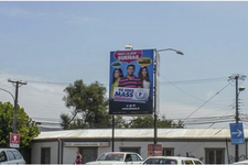 Talca - Calle 9 Norte con Calle Linray (S-N)