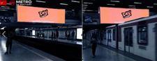 Monumental Digital - Estación Baquedano L1 - (2)