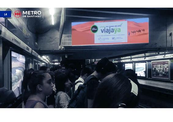 Foto de Monumental Digital - Estación Tobalaba L4 (1)