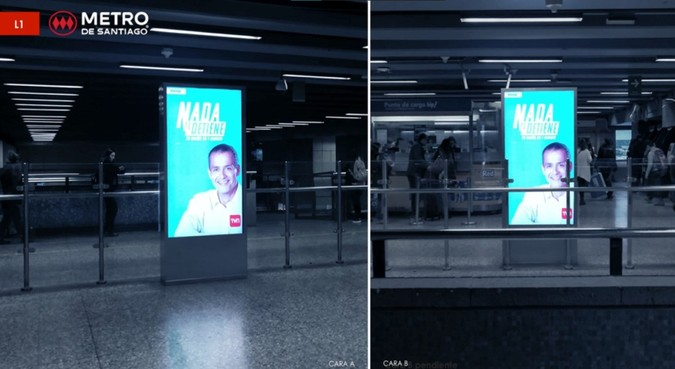 Foto de Totem Digital Bifaz - Estación Los Heroes L1 - (2)