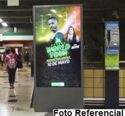 Foto de Totem Digital Unifaz - Estación Universidad Catolica L1 (1)