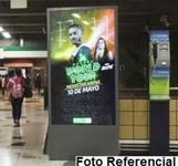 Totem Digital Unifaz - Estación Baquedano L1 - (1)