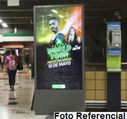 Foto de Totem Digital Bifaz - Estación Manquehue L1 (4)