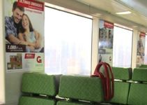 Ventana Interior tren- Biotren Concepción