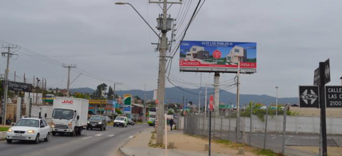 Foto de Av. Marga Marga  altura Bencineras (Doble Cara) - Cara hacia Quilpue